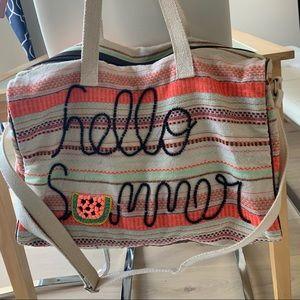 Gym / picnic tote bag